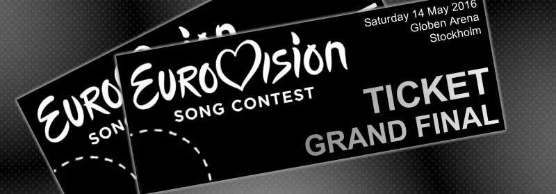 song contest tickets