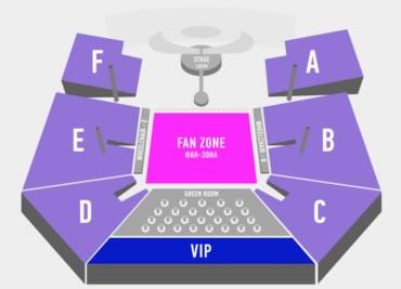 Eurovision 2017 Floorplan