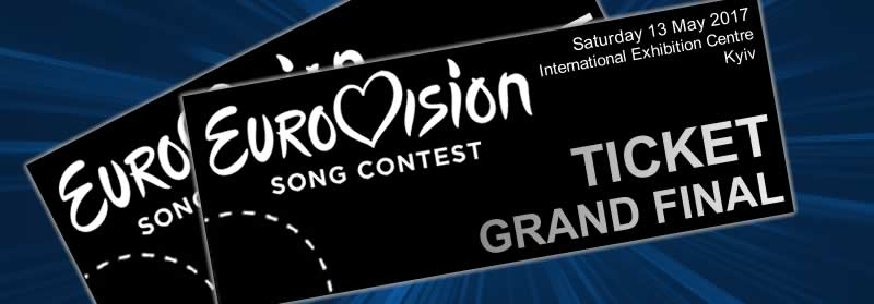 Eurovision 2017 tickets