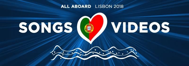 Eurovision 2018: Songs & Videos