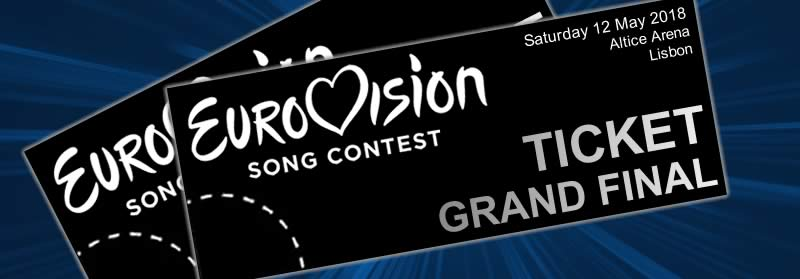 Eurovision 2018 tickets