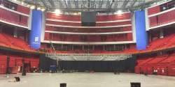 2016 Arena: The Globe is empty and ready for stage construction