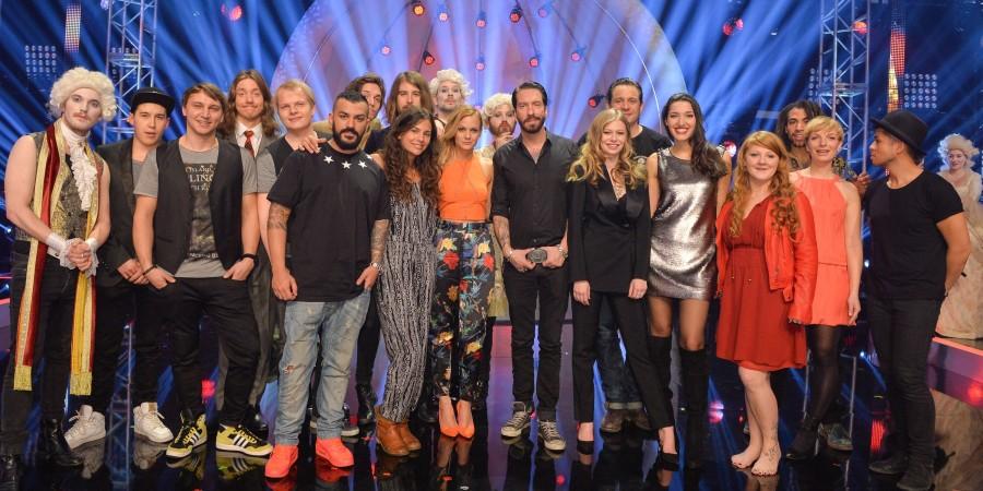 Austria: Wer singt für Österreich finalists