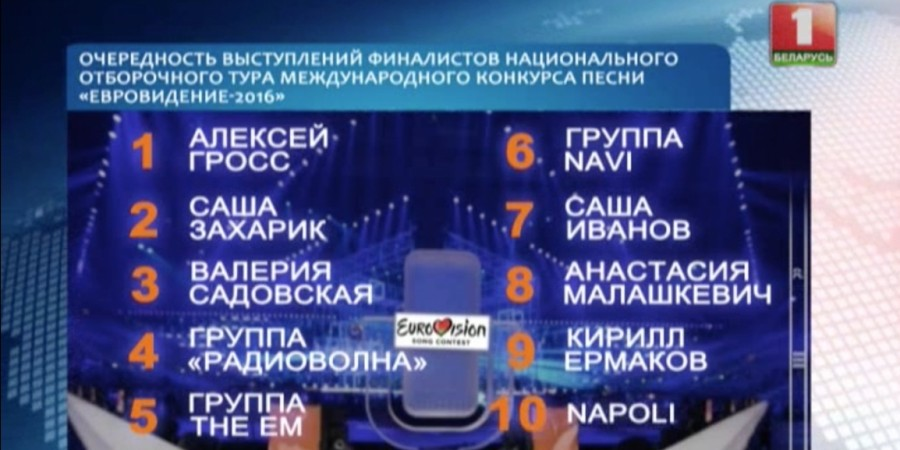 Belarus 2016 finalists screenshot
