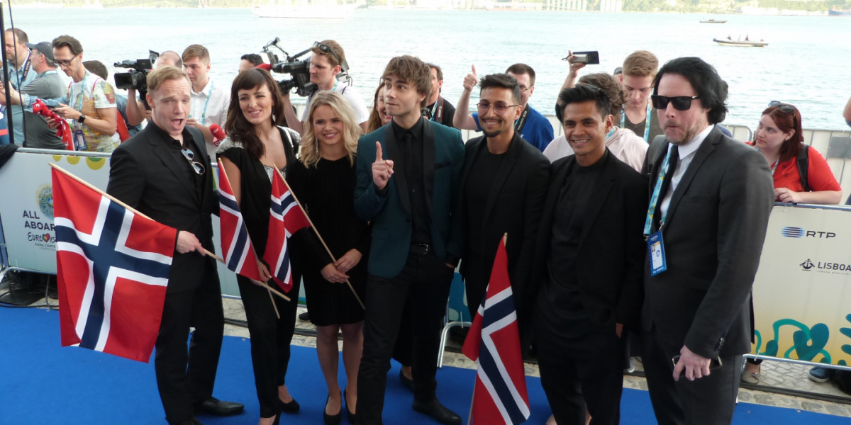 Blue carpet Eurovision 2018: Norway – Alexander Rybak
