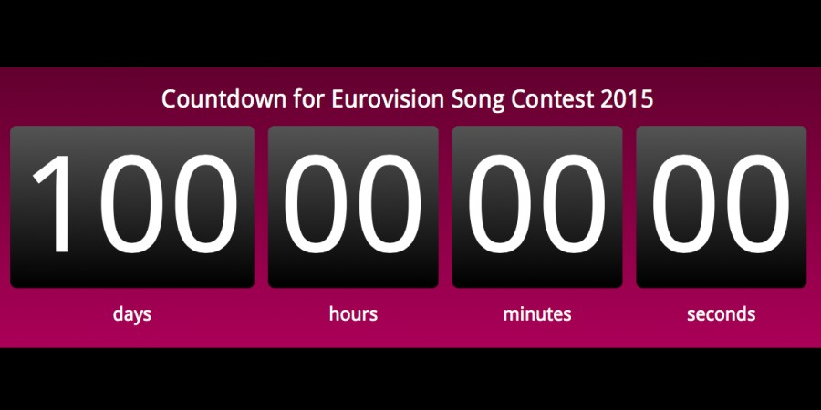 Countdown: 100 days to Eurovision Song Contest 2015