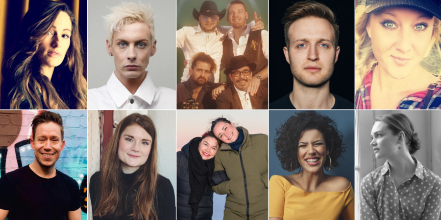 Denmark 2019: Melodi Grand Prix artists