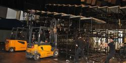 Dismantling of the stands