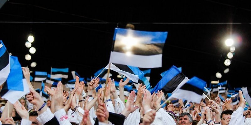 Estonia audience flags