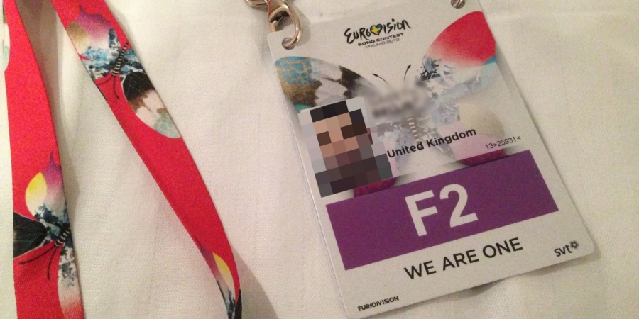 Eurovision 2013 F2 Fan Accreditation