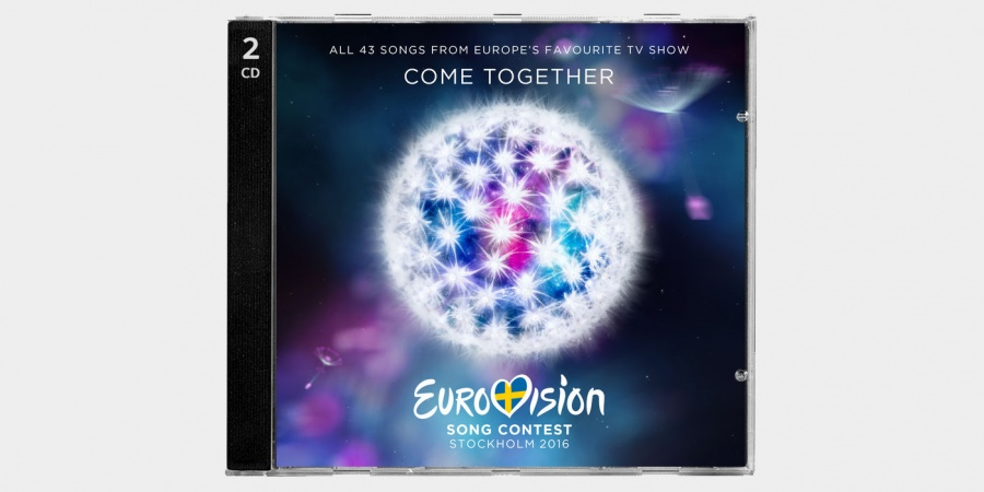 Eurovision 2016 CD cover