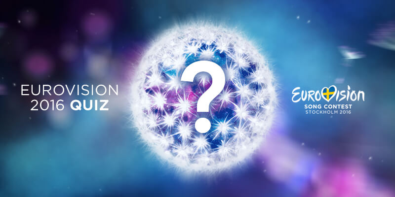 Eurovision Quiz: Eurovision 2016