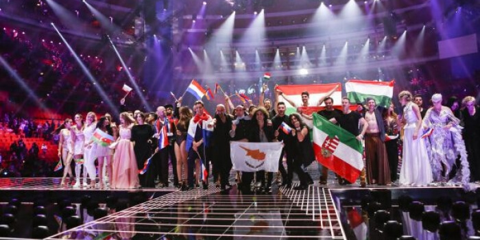 Eurovision 2016 finalists from semi 1