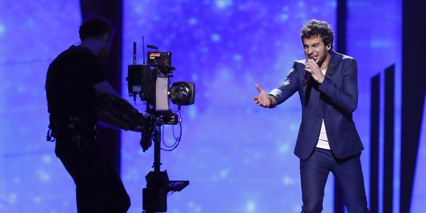 Eurovision 2016: France and Amir's first rehearsal