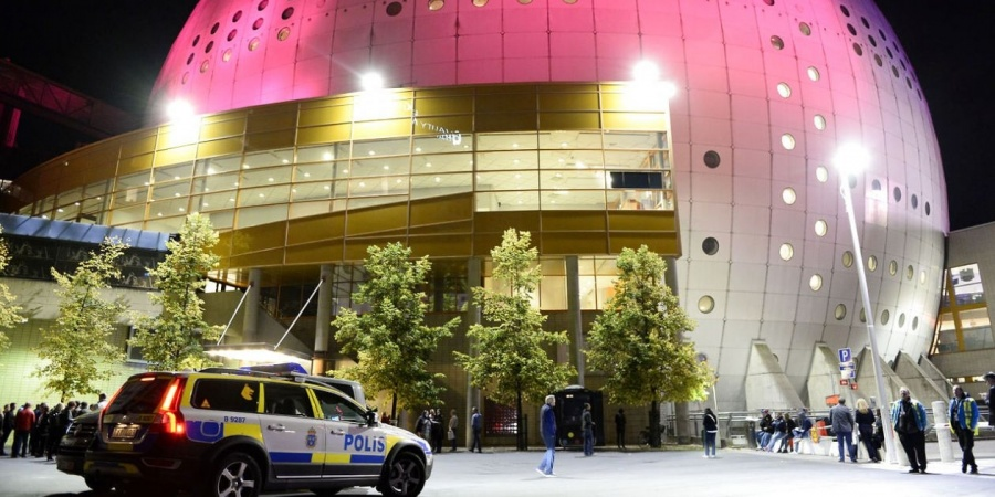 Eurovision 2016 Globen Stockholm Police Security