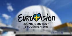 Eurovision 2016 Logo Stockholm Globen