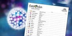 Eurovision 2016: Scorecard