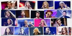 Eurovision 2016 Semi-final 1 artists