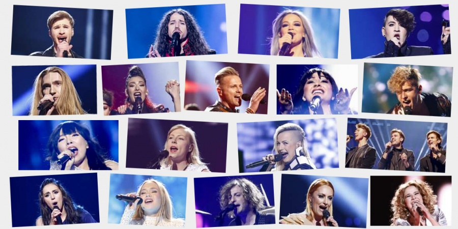 Eurovision 2016 Semi-final 2 artists