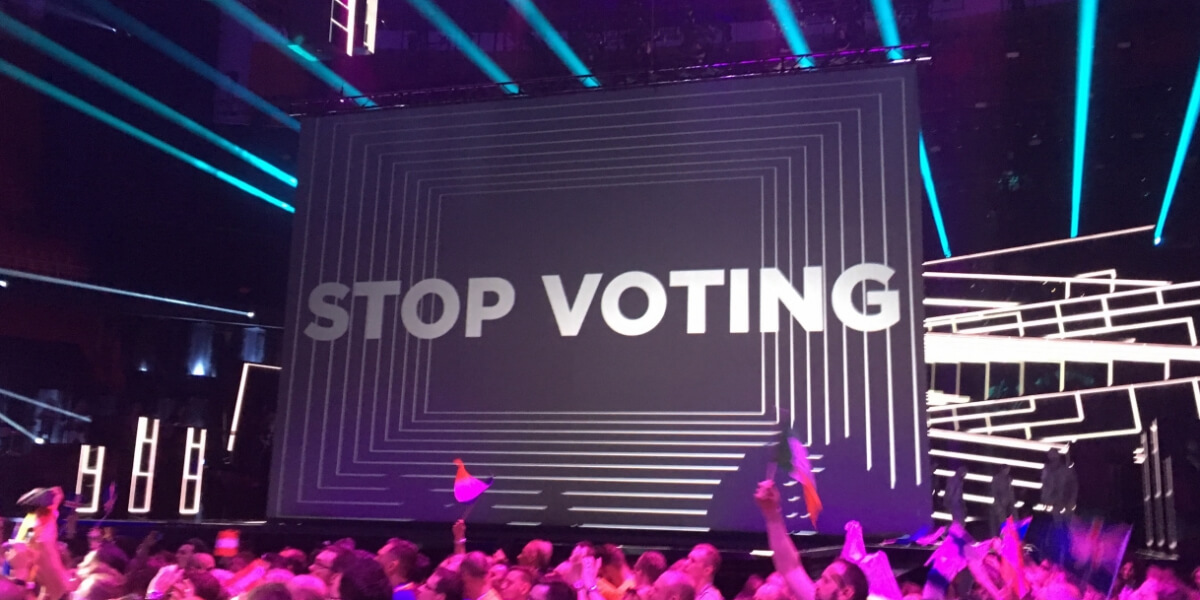 Eurovision 2016: Stop Voting