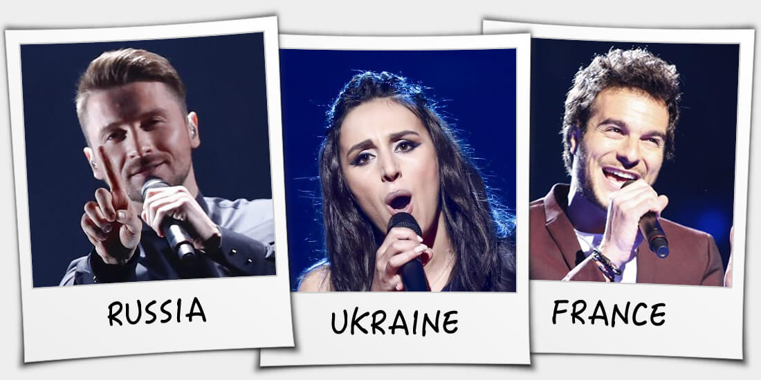 Eurovision 2016 winners: Russia, Ukraine or France?