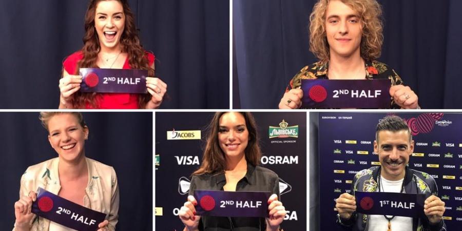 Eurovision 2017 Big-5 draw
