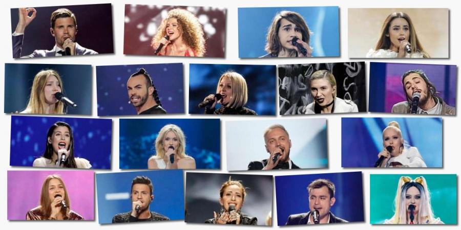 Eurovision 2017 Semi-final 1 artists