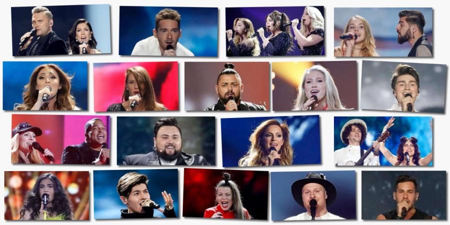 Eurovision 2017 Semi-final 2 artists