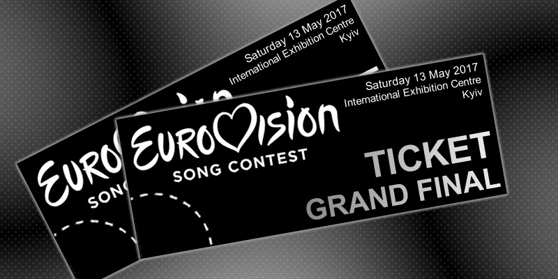 Eurovision 2017 tickets grey