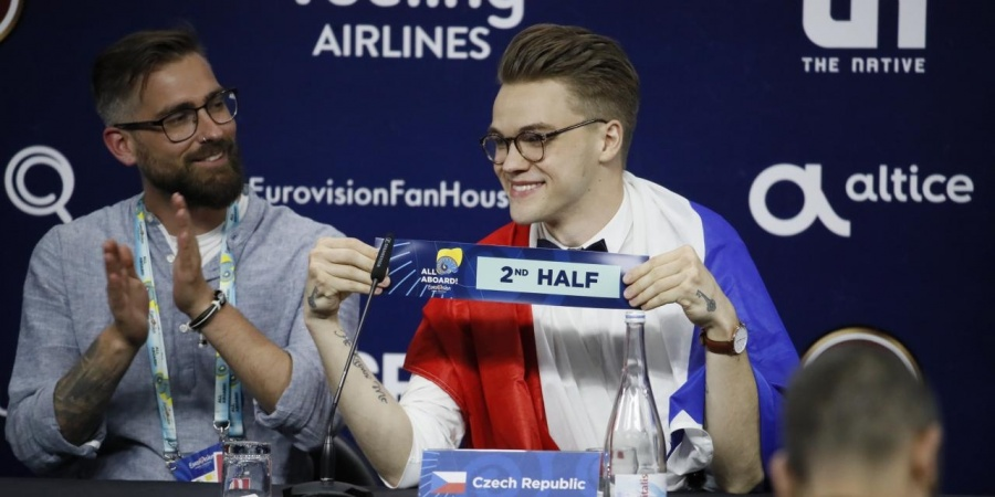 Eurovision 2018 draw: Check Republic