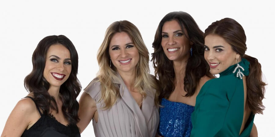 Eurovision 2018 Hosts: Filomena Cautela, Sílvia Alberto, Daniela Ruah and Catarina Furtado