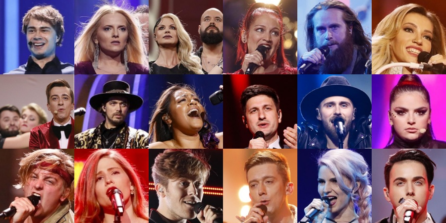 Eurovision 2018 Semi-final 2 participants