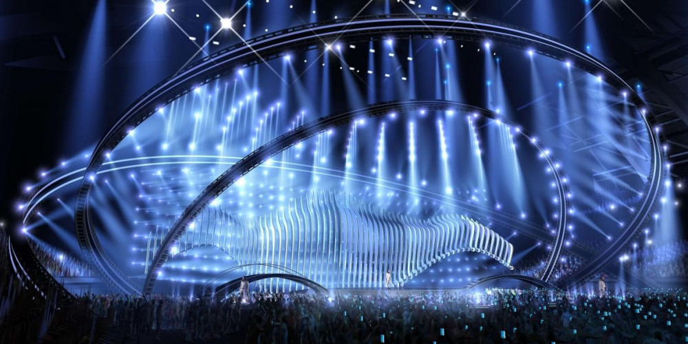 Eurovision 2018 stage