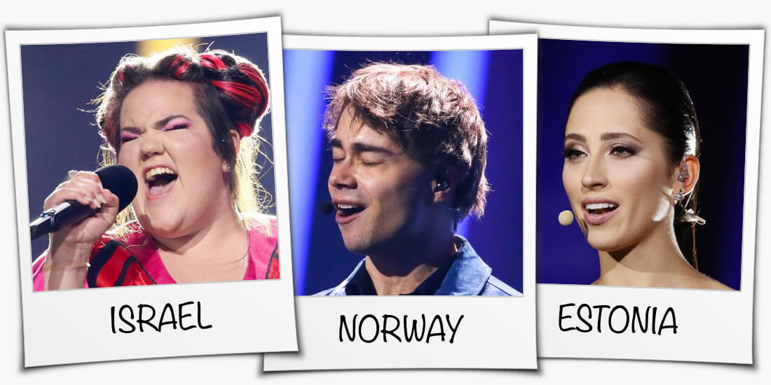 Eurovision 2018 winner: Israel, Norway or Estonia