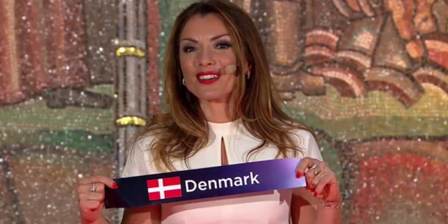 Eurovision Semi-final Allocation Draw 2016: Denmark