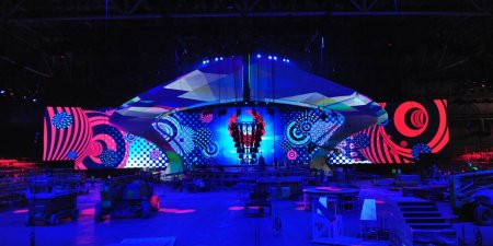 Eurovision Stage 2017: The stage is almost ready