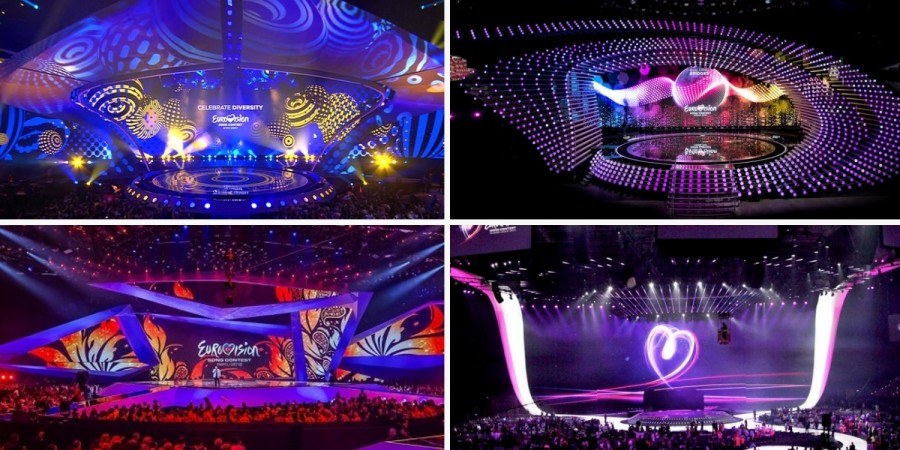 Eurovision Stages: 2017, 2015, 2012, 2011