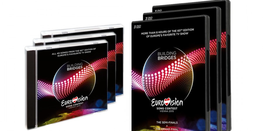 Eurovision 2015 CD & DVD