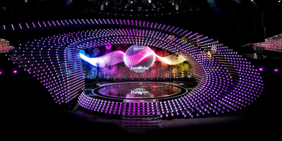the eurovision 2015 stage is ready