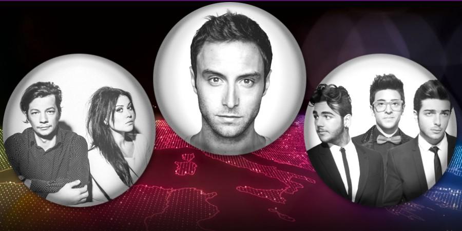 Eurovision 2015: Sweden Italy Estonia