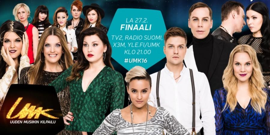 Finland UMK 2016: Finalists