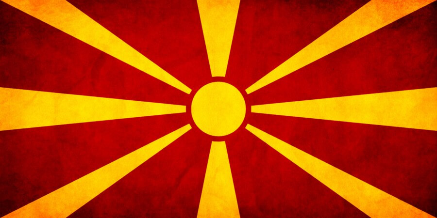 Flag of FYR Macedonia