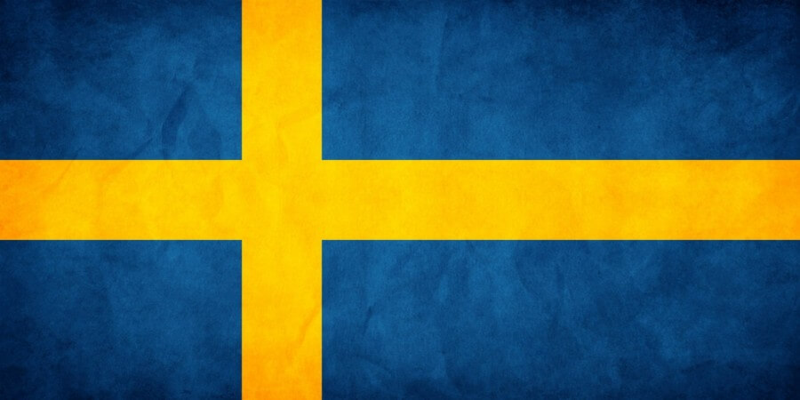Abba swedish flag