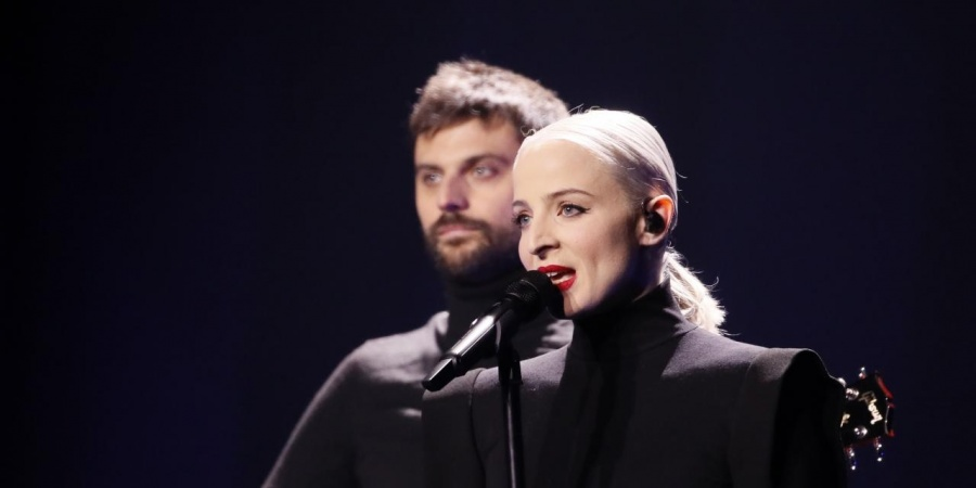 France 2018: Madame Monsieur second rehearsal