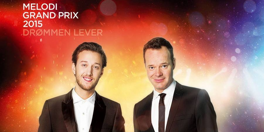 Hosts at Dansk Melodi Grand Prix 2015
