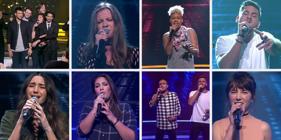Israel Rising Star 2017 Quarter-finalists