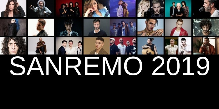 sanremo 2019  Italy: The lineup of Sanremo 2019 is complete