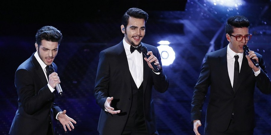 italy il volo wins sanremo 2015 ready for vienna. Black Bedroom Furniture Sets. Home Design Ideas
