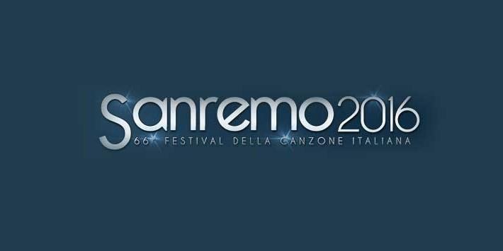Italy: Sanremo 2016 logo