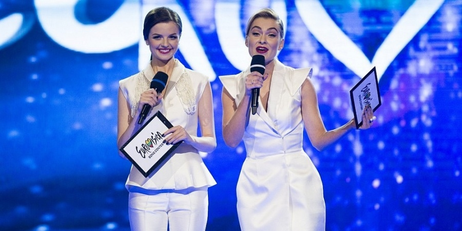 Lithuania Eurovizijos 2017 Hosts: Ievai Stasiulevičiūtei and Gabrielei Martirosianaitei